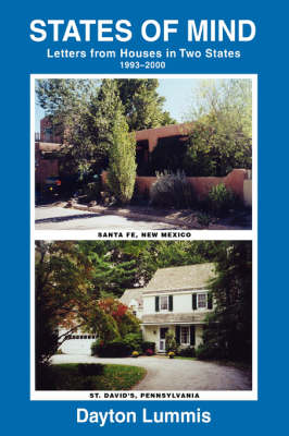 States of Mind: Letters from Houses in Two States (Paperback)
