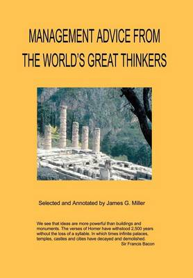 Management Advice from the World's Great Thinkers (Hardback)