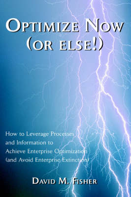 Optimize Now (or Else!): How to Leverage Processes and Information to Achieve Enterprise Optimization (and Avoid Enterprise Extinction) (Hardback)