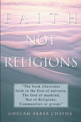 Faith Not Religions (Hardback)