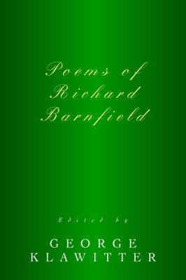 Poems of Richard Barnfield (Hardback)