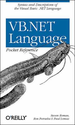 VB.NET Language Pocket Reference (Paperback)