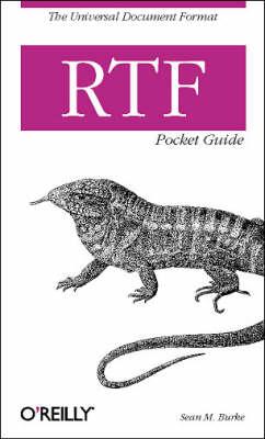 RTF Pocket Guide (Paperback)