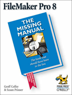Filemaker Pro 8 the Missing Manual (Paperback)
