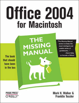 Office 2004 for Macintosh: The Missing Manual (Paperback)