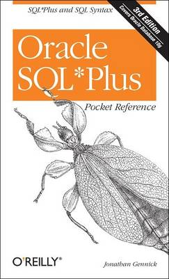 Oracle SQLPlus Pocket Reference (Paperback)
