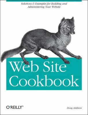 Web Site Cookbook (Paperback)
