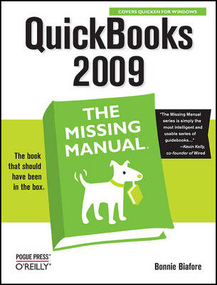 Quickbooks 2009: The Missing Manual (Paperback)