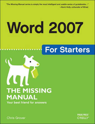 Word 2007 for Starters (Paperback)
