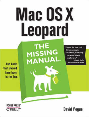 Mac OS X Leopard: The Missing Manual (Paperback)