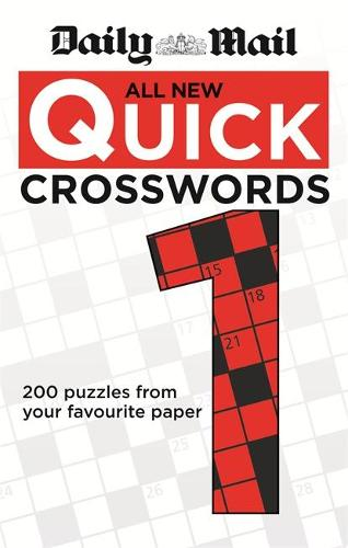 Daily Mail: All New Quick Crosswords 1 - The Daily Mail Puzzle Books (Paperback)