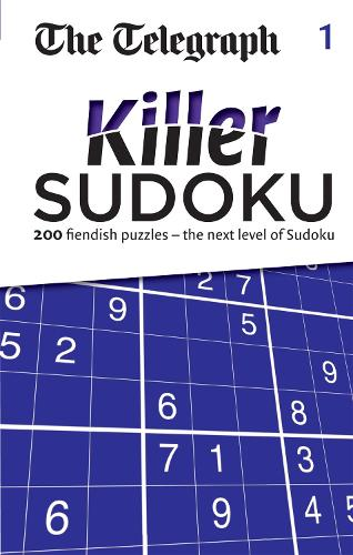 The Telegraph Killer Sudoku 1 - The Telegraph Puzzle Books (Paperback)