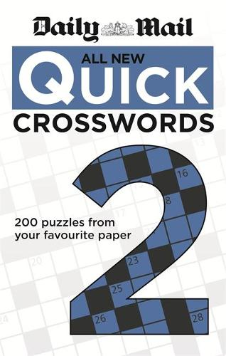 Daily Mail: All New Quick Crosswords 2 - The Daily Mail Puzzle Books (Paperback)
