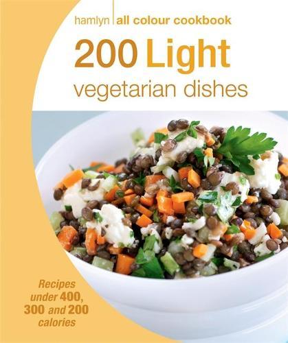 Hamlyn All Colour Cookery: 200 Light Vegetarian Dishes: Hamlyn All Colour Cookbook - Hamlyn All Colour Cookery (Paperback)