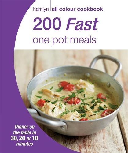 Hamlyn All Colour Cookery: 200 Fast One Pot Meals: Hamlyn All Colour Cookbook - Hamlyn All Colour Cookery (Paperback)
