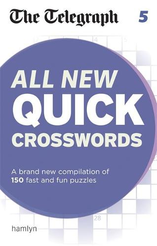 The Telegraph All New Quick Crosswords 5 - The Telegraph Puzzle Books (Paperback)