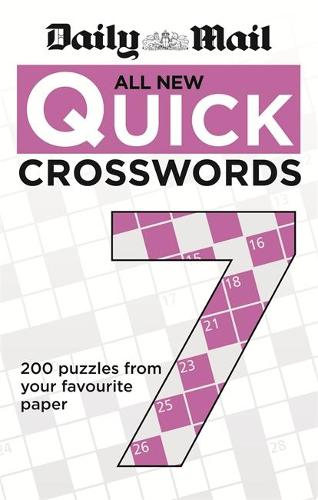 Daily Mail All New Quick Crosswords 7 - The Daily Mail Puzzle Books (Paperback)