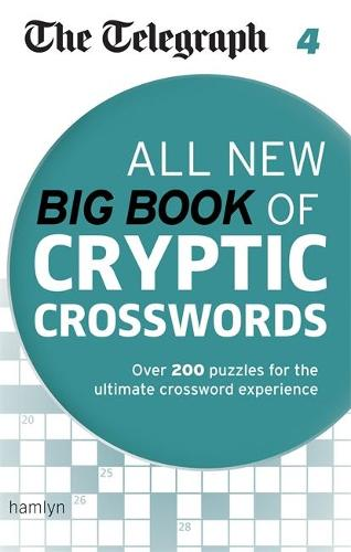The Telegraph: All New Big Book of Cryptic Crosswords 4 - The Telegraph Puzzle Books (Paperback)