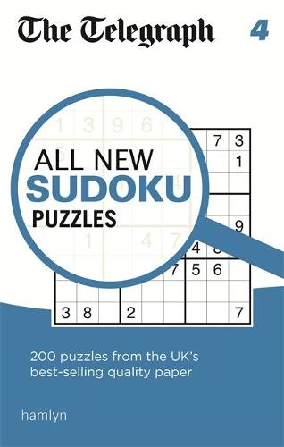 The Telegraph All New Sudoku Puzzles 4 - The Telegraph Puzzle Books (Paperback)