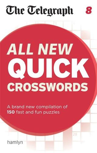 The Telegraph: All New Quick Crosswords 8 - The Telegraph Puzzle Books (Paperback)