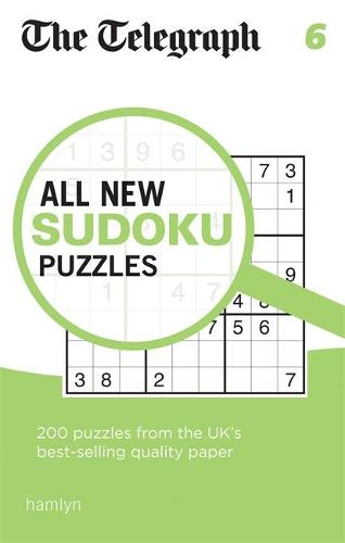 The Telegraph All New Sudoku Puzzles 6 - The Telegraph Puzzle Books (Paperback)