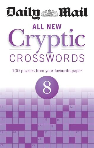 Daily Mail All New Cryptic Crosswords 8 - The Daily Mail Puzzle Books (Paperback)