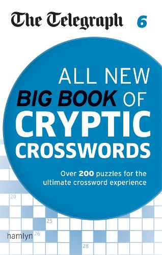 The Telegraph: All New Big Book of Cryptic Crosswords 6 - The Telegraph Puzzle Books (Paperback)