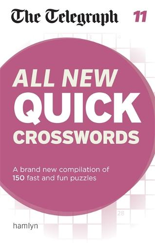 The Telegraph: All New Quick Crosswords 11 - The Telegraph Puzzle Books (Paperback)
