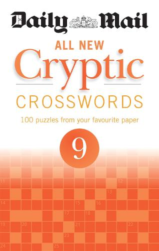 Daily Mail All New Cryptic Crosswords 9 - The Daily Mail Puzzle Books (Paperback)