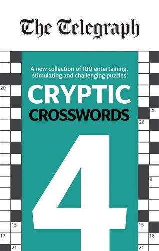 The Telegraph Cryptic Crosswords 4 - The Telegraph Puzzle Books (Paperback)