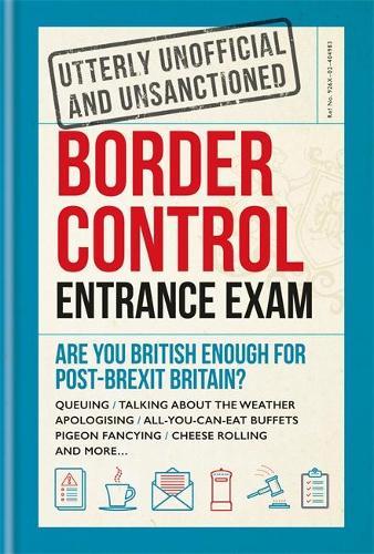 Border Control Entrance Exam (Hardback)