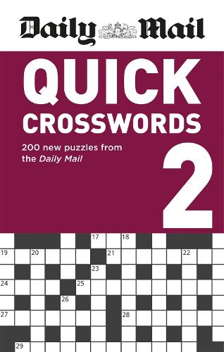 Daily Mail Quick Crosswords Volume 2 - The Daily Mail Puzzle Books (Paperback)