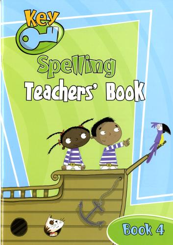 Key Spelling Teachers' Handbook 4 - KEY SPELLING (Paperback)