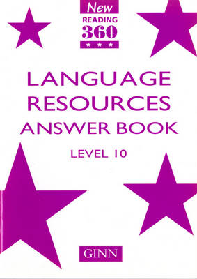 New Reading 360 Level 10: Language Resource Answer Book - NEW READING 360 (Paperback)