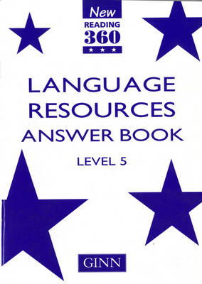 New Reading 360 Level 5: Language Resource Answer Book - NEW READING 360 (Paperback)