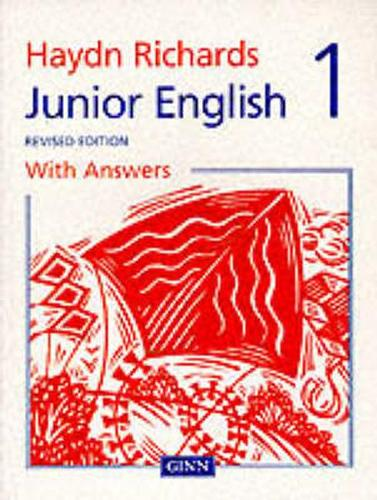 Haydn Richards : Junior English Pupil Book 1 With Answers -1997 Edition - HAYDN RICHARDS (Paperback)