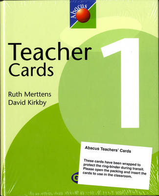 1999 Abacus Year 1 / P2: Teacher Cards - NEW ABACUS (1999)