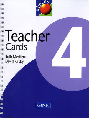 1999 Abacus Year 4 / P5: Teacher Cards - NEW ABACUS (1999)