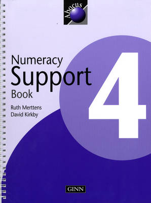 1999 Abacus Year 4 / P5: Numeracy Support Book - NEW ABACUS (1999) (Spiral bound)