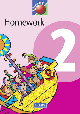 1999 Abacus Year 2 / P3: Homework Book (8 pack) - NEW ABACUS (1999)