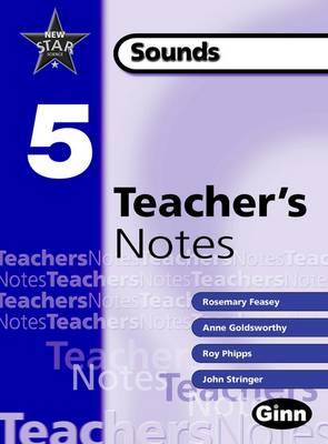 New Star Science: Year 5 Sounds Teacher Notes - STAR SCIENCE NEW EDITION (Spiral bound)