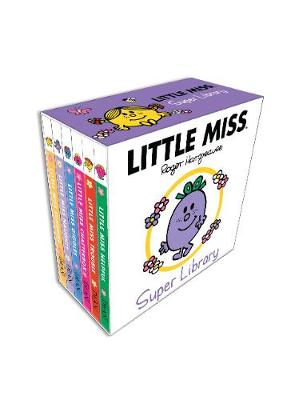 LIttle Miss Board Book Collection (Hardback)