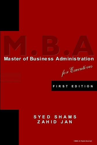 Ep Series: MBA for Executives (Paperback)