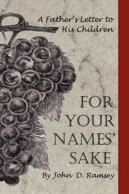 For Your Names' Sake (Paperback)