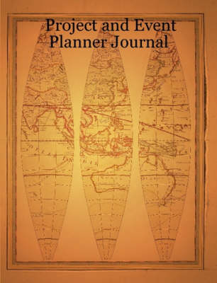 Project and Event Planner Journal (Paperback)