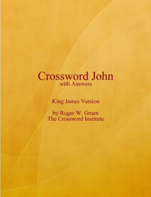 Crossword John with Answers (Paperback)