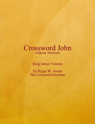 Crossword John Without Answers (Paperback)