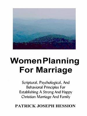 Women Planning for Marriage (Paperback)