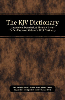 The KJV Dictionary (Paperback)