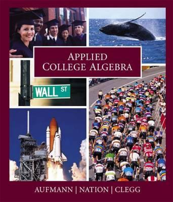 Applied College Algebra (Hardback)